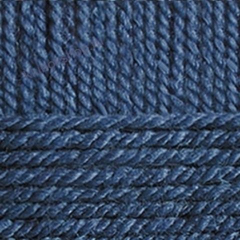 Пряжа Популярная (Пехорка) цвет 156 индиго