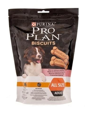 PURINA PRO PLAN Лакомство для собак бисквиты с лососем и рисом Biscuits