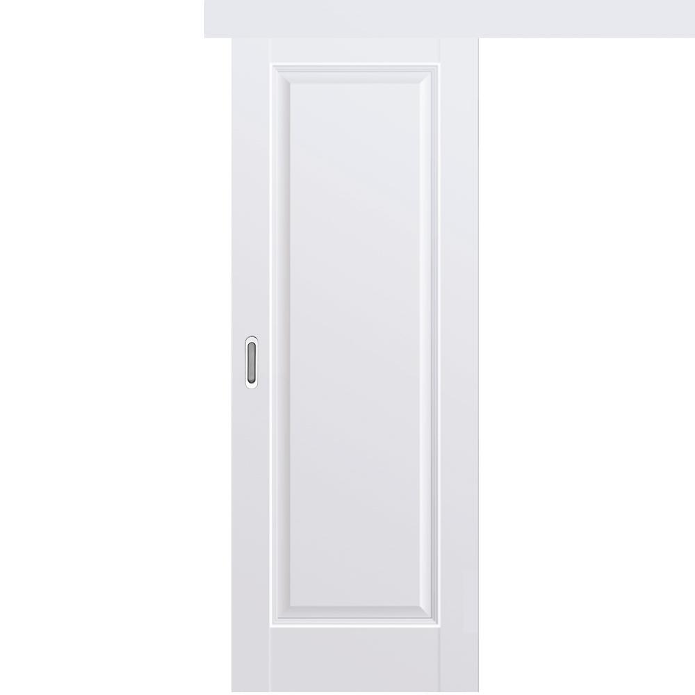 Одностворчатые раздвижные двери Межкомнатная одностворчатая дверь купе экошпон Profil Doors 93U аляска глухая 93u-alaska-dvertsovor.jpg