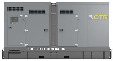 Дизельный генератор CTG 330D в кожухе