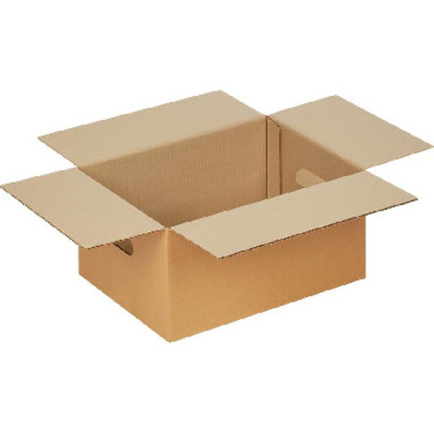 Короб картонный с ручками 400x300x200 T23 бурый 10 шт./уп