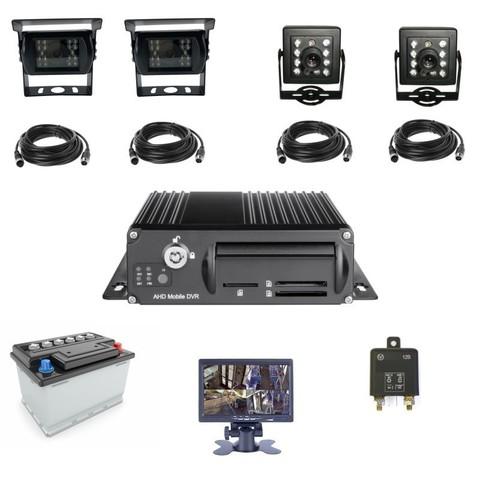 Аппаратно-программный комплекс (АПК) аудио-видео наблюдения AXPER 4CH PRO