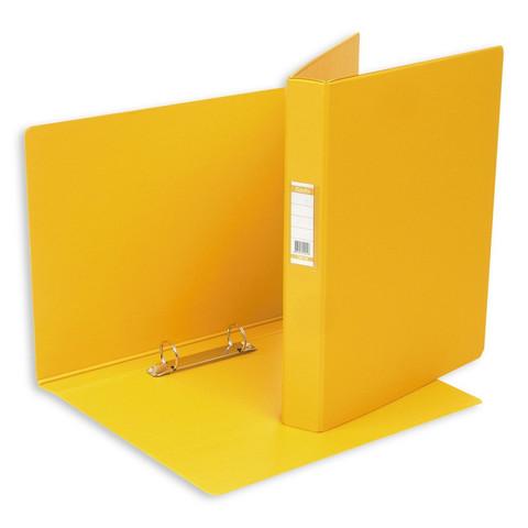 Папка на 2-х кольцах Bantex 35 мм желтая до 220 листов