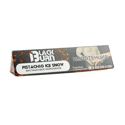 Табак Burn Black Pistachio Ice Snow (Фисташковое Мороженое) 25 г