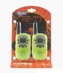 Комплект раций Baofeng BF-T3 - салатовые
