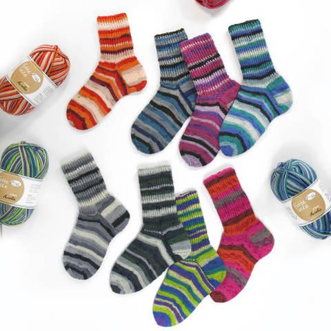 Rellana Flotte Socke Aurelia 6-ply 7077