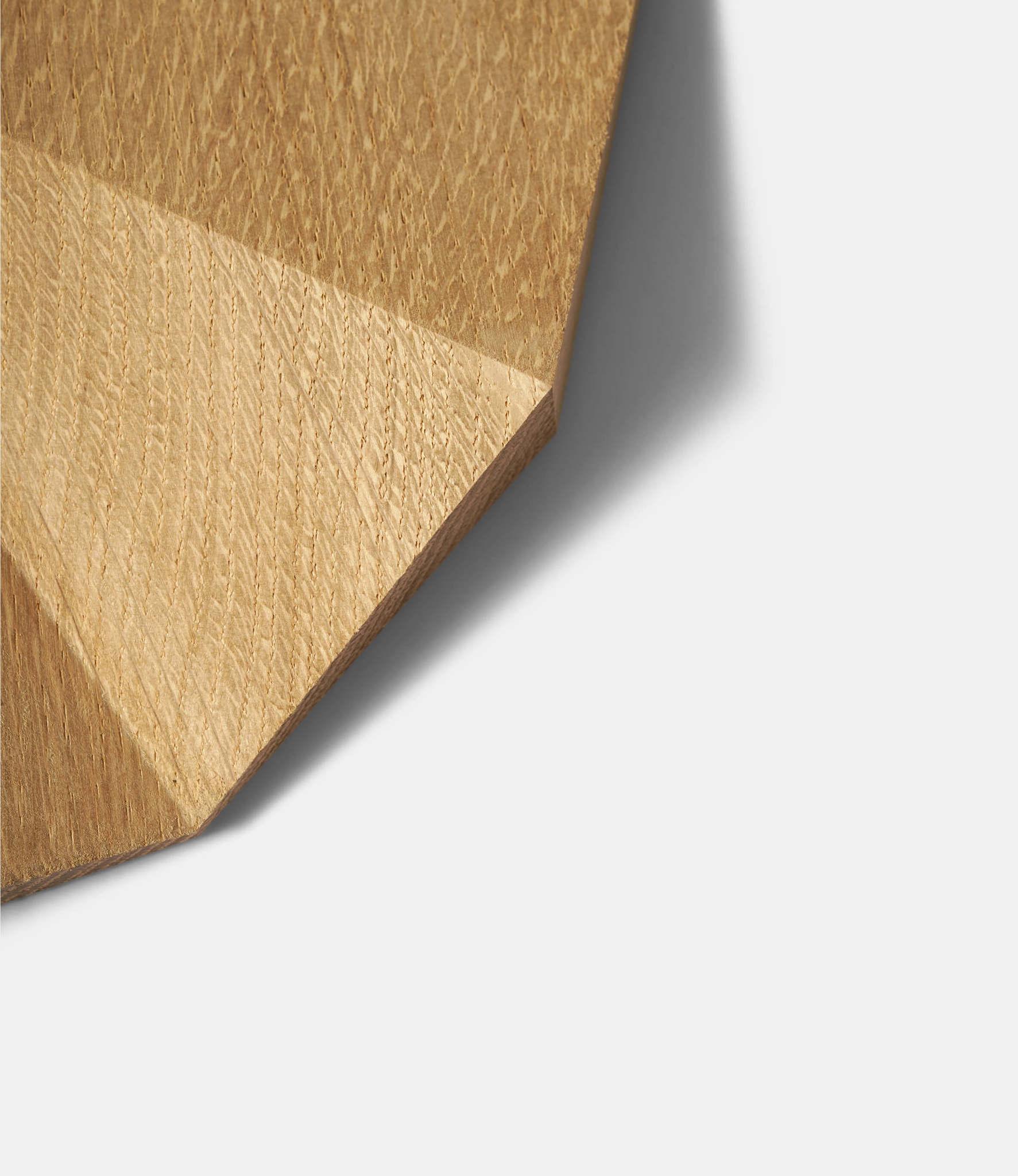 Lawa Design Delta Clock Oak — настенные часы