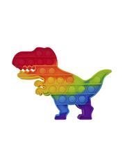 Поп Ит Игрушка антистресс Вечная пупырка Попит 19,5 х 14 см разноцветный динозавр POP IT