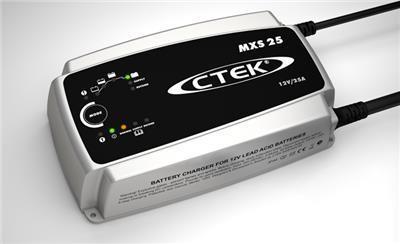 Зарядное устройство для 12В АКБ (8 этапов, 50‐500Aч) MXS 25