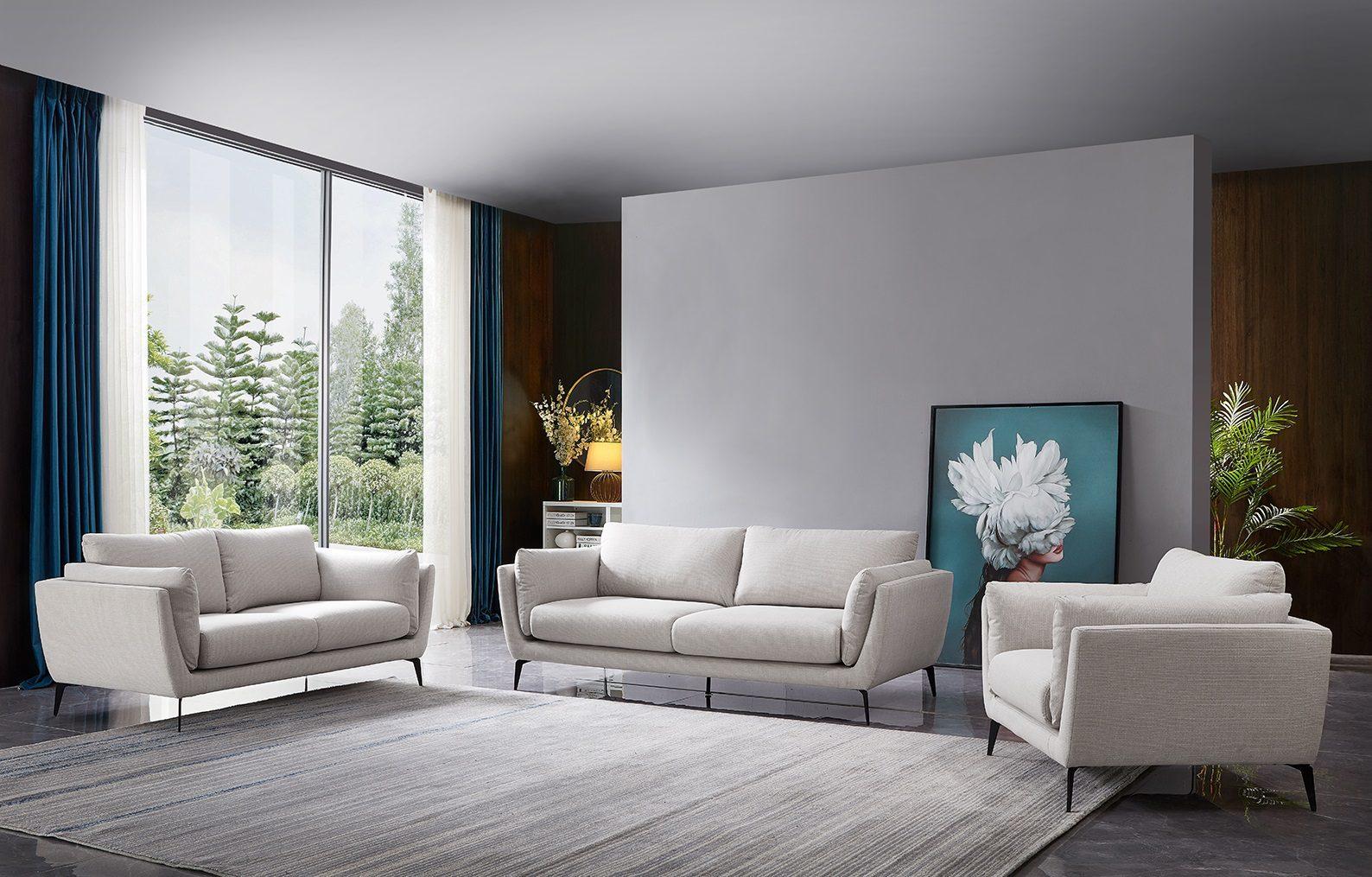 Набор мягкой мебели AMSTERDAM 5176 beige