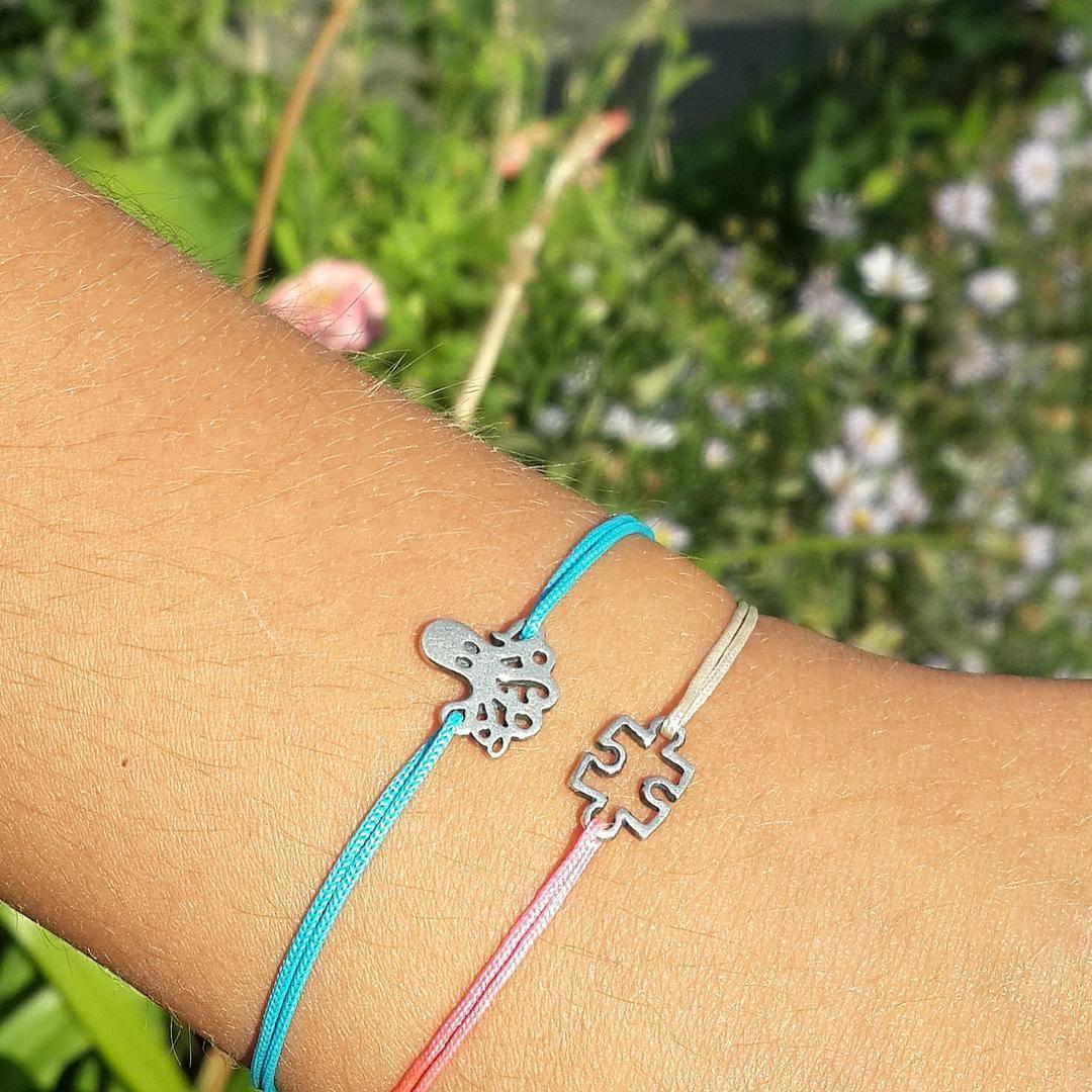Octopus Bracelet, sterling silver