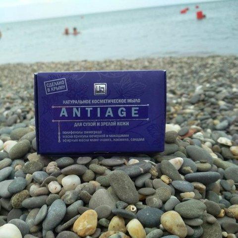 Мыло натуральное «AntiAge»с эффектом лифтинга™Царство Ароматов