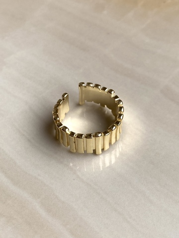 Кольцо Фиансата, позолота