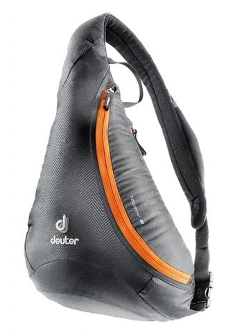 Картинка рюкзак однолямочный Deuter Tommy S Black-Orange - 1