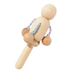 Погремушка Лялька Вальда, неокрашеная