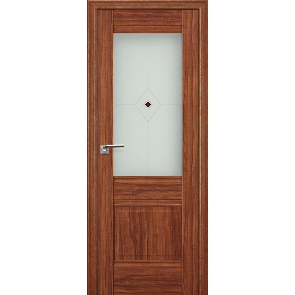 Двери экошпон Межкомнатная дверь экошпон Profil Doors 2X орех амари остеклённая 2X-oreh-amari-min.jpg