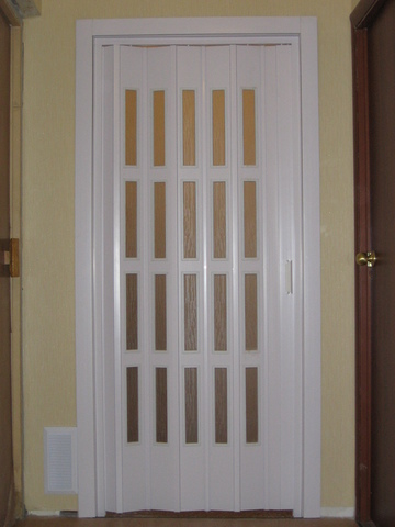 Итальянские двери гармошка со скидкой 50%