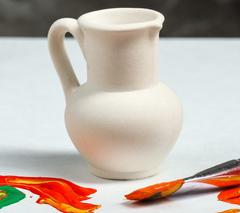 Фигурки керамические для росписи, 7 см, 1 шт.