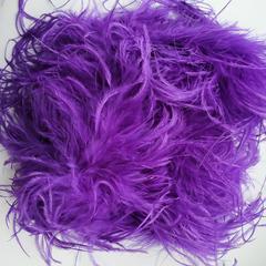 Боа  из перьев страуса и пуха 30 гр. фиолетовый