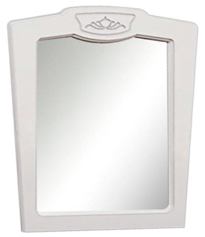 Зеркало Александрина белый глянец