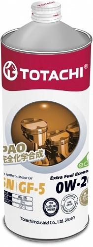 TOTACHI Extra Fuel Economy 0W-20 масло моторное синтетическое (1 Литр)