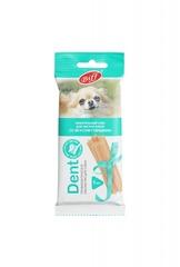 Лакомство для собак мелких пород TitBit DENT Жевательный снек со вкусом говядины, упаковка 20 шт