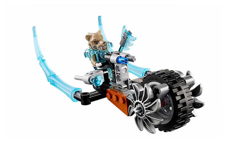 LEGO: Chima Саблецикл Стрейнора 70220 — Strainor's Saber Cycle — Лего Чима