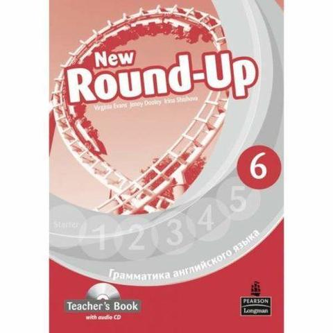 New Round-Up 6. Virginia Evans. Teacher's Book. Книга для учителя