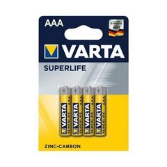 Батарейка Varta R03 1.5V AAA Superlife zinc-carbon