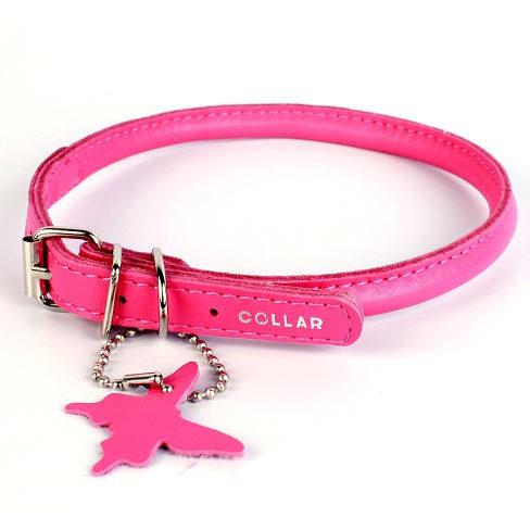 Купить круглые кожаные ошейники для собак collar в интернет-магазине