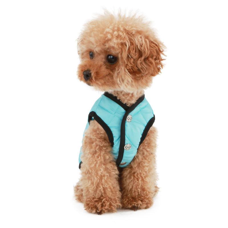 стеганная куртка для собаки