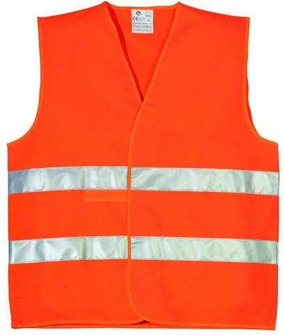 Жилет сигнальный РемоКолор оранжевый, размер XL