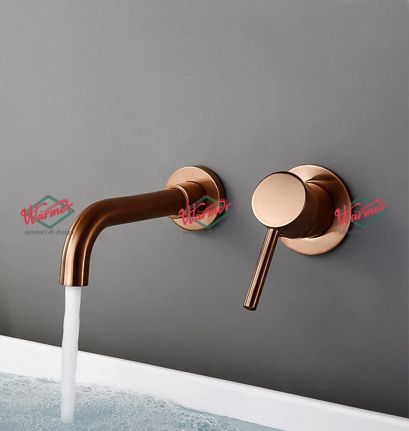 Смесители скрытого монтажа Встраиваемый смеситель для ванной  Warmer Rose Gold Line 260070 5-_10_.jpg