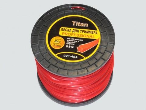 Леска для триммеров ЗВЕЗДА (бобина) 2.00мм* 454м, красный