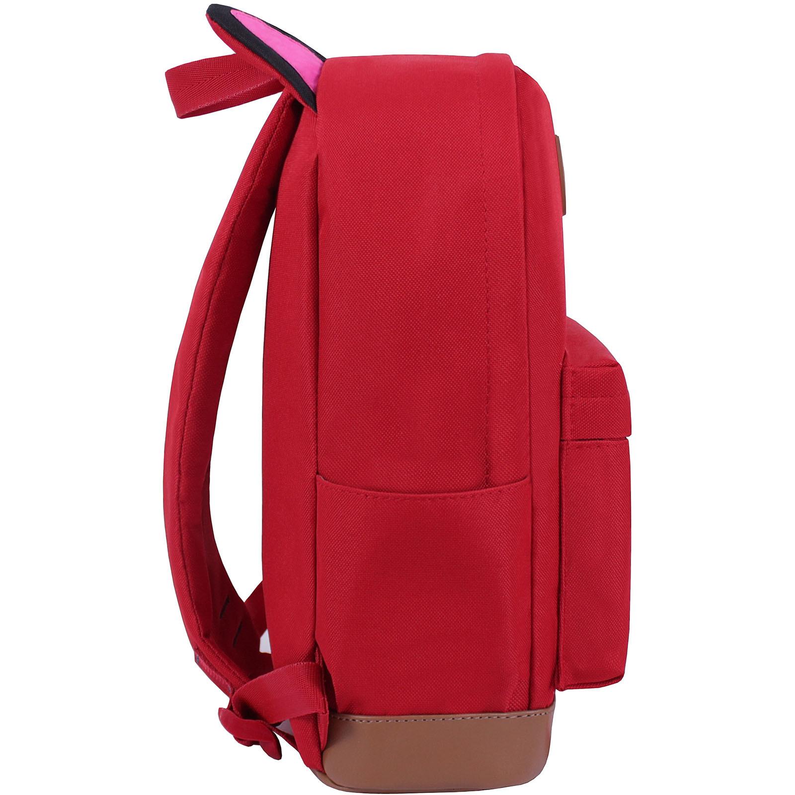 Рюкзак Bagland Ears красный (0054566) фото 2