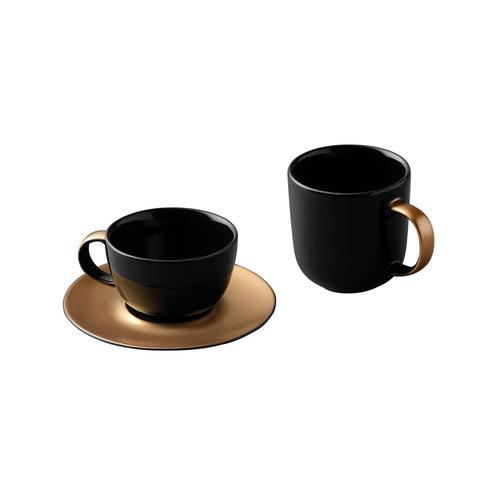 3пр набор для кофе и чая чёрный