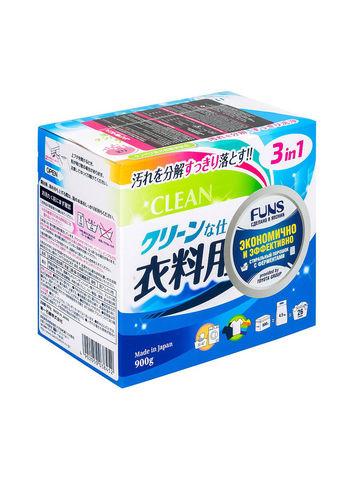 Стир/порошок с ферментом яичного белка для устранения пятен Daiichi Funs Clean 900 гр