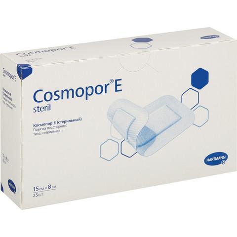 Пластырь-повязка Cosmopor E послеоперационная стерильная 15 х 8 см (25 штук в упаковке)
