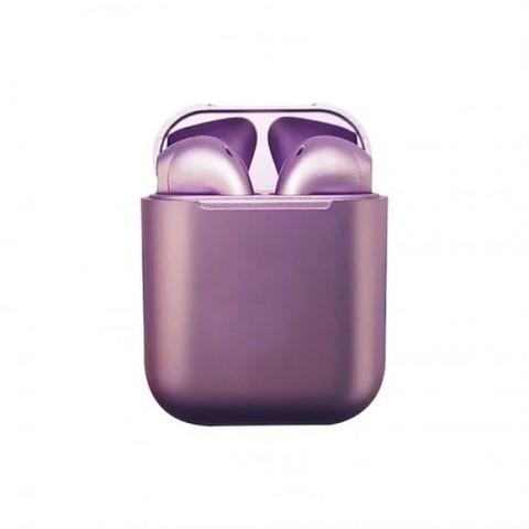 Беспроводные наушники InPods 12 фиолетовые глянцевые