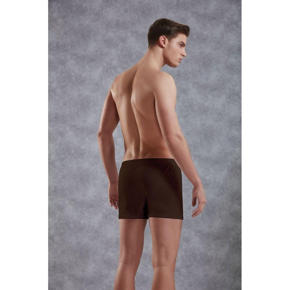 Мужские трусы боксеры хлопковые коричневые Doreanse 1511