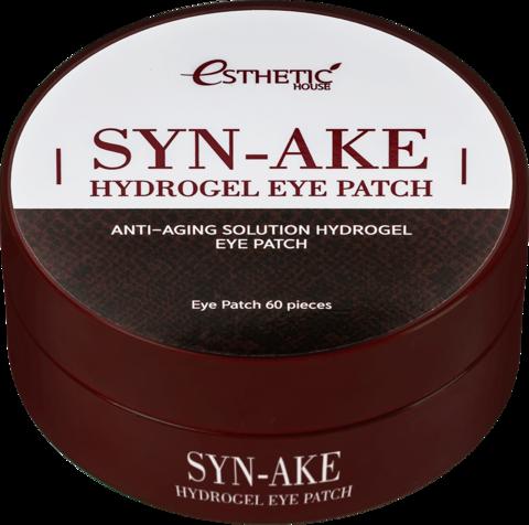 ESTHETIC HOUSE Гидрогелевые патчи для глаз ЗМЕИНЫЙ ПЕПТИД Syn-Ake Hydrogel Eye Patch, 60 шт