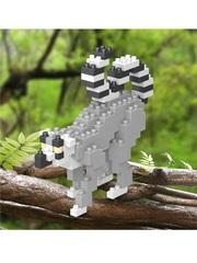 Конструктор Wisehawk Кольцехвостый лемур 135 деталей NO. C16 Ring-tailer lemur Gift Series