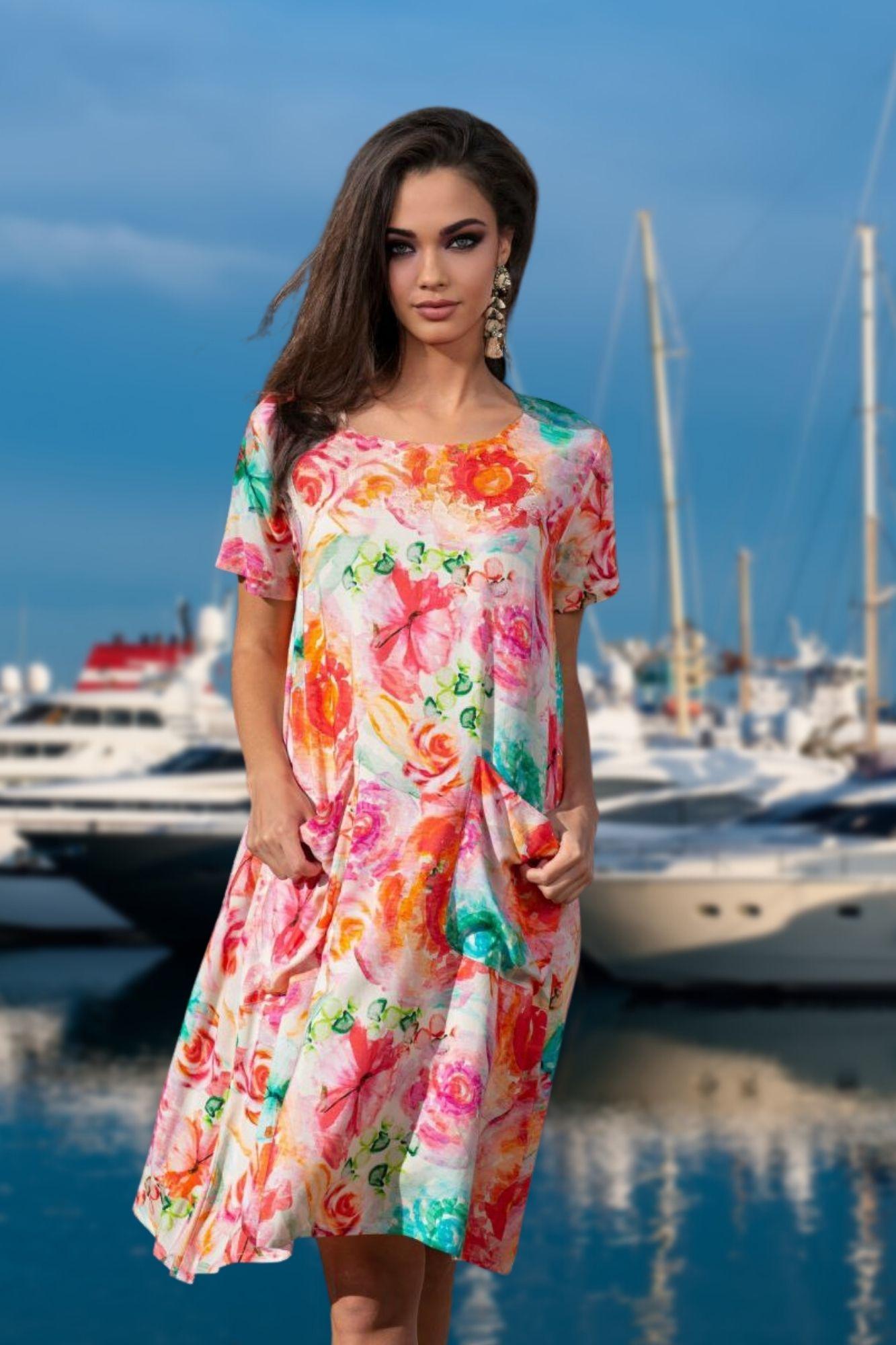 Платье летнее с