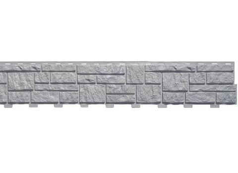 Сайдинг Tecos Натуральный камень - Серый