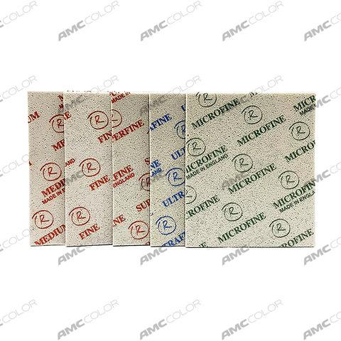 159608 RoxelPro Абразивная губка Softback 140 x 115мм, Fine