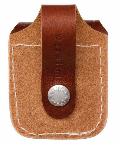 Чехол для зажигалки Zippo LPLB, коричневый, 57х30х75 мм123