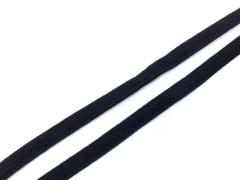 Ворсовая тесьма под каркасы черная 50 метров