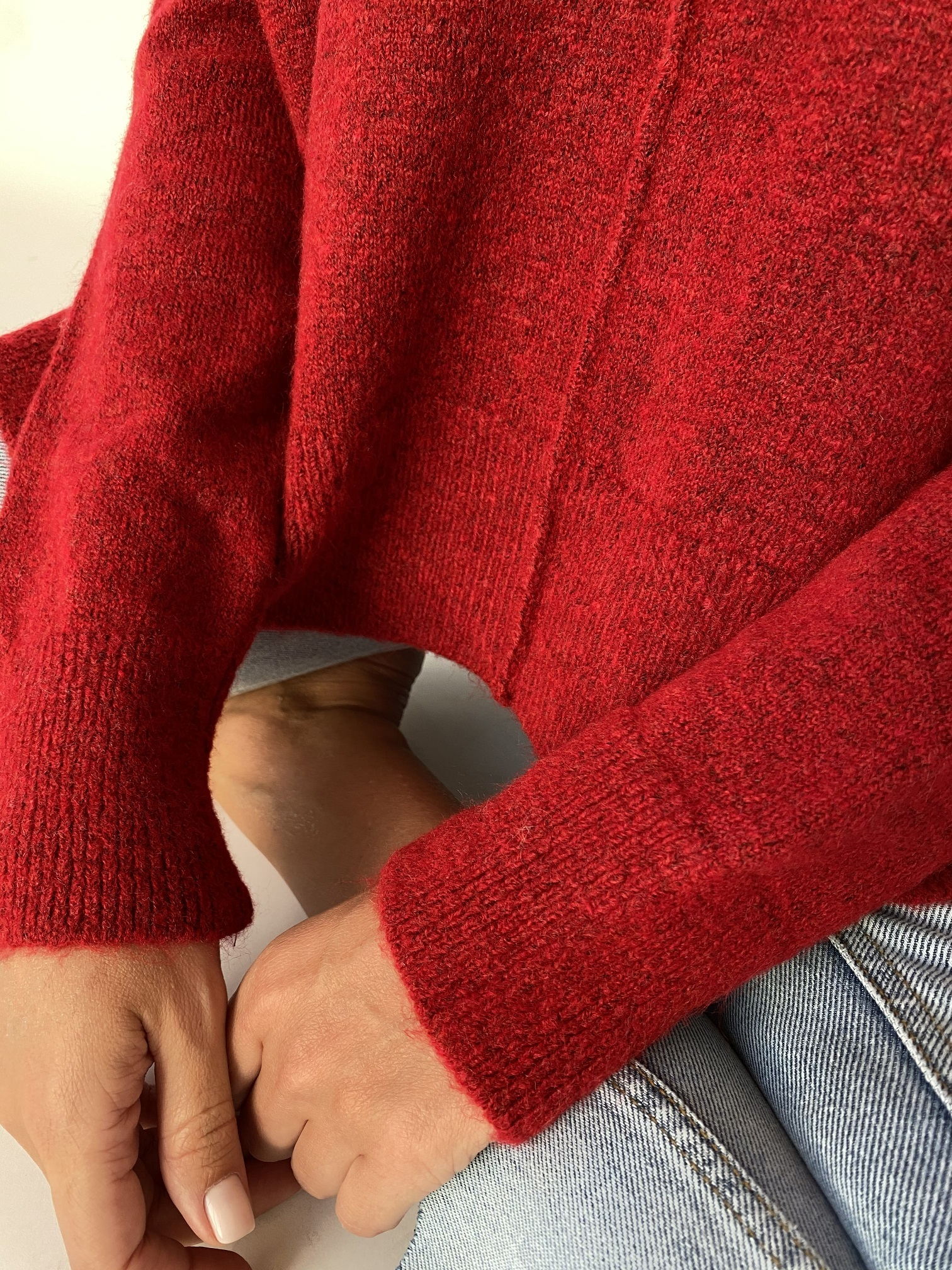 Джемпер , UNO, Zip line (красный)
