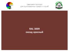Цвет полимерного покрытия RAL 3009 оксидно-красный | АЙГРЯДКИ!