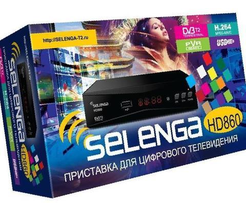 TV-тюнер Selenga HD860 приставка DVB-C, DVB-T, DVB-T2